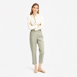 Everlane Relaxed Air Shirt, Ivory, 0